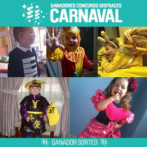 sorteo concurso disfraces carnaval