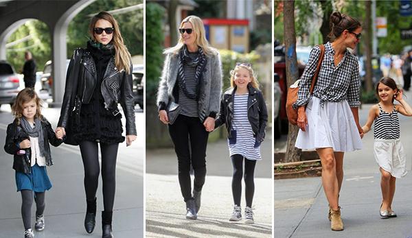 Madres e hijas vestidas iguales | Percentil