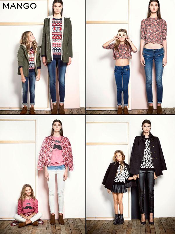 Madres e hijas vestidas iguales | Percentil Victoria Beckham