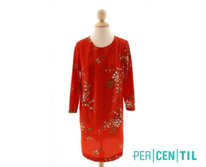 Vestido de Mango, disponible en Percentil.com