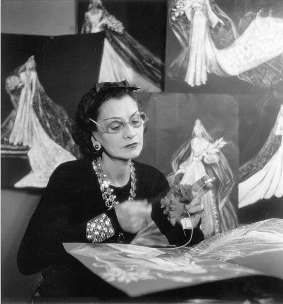 Coco Chanel. Diseñadora francesa.